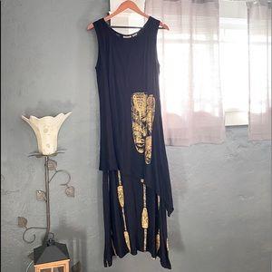 Africa Dress vintage Nefertiti Collection